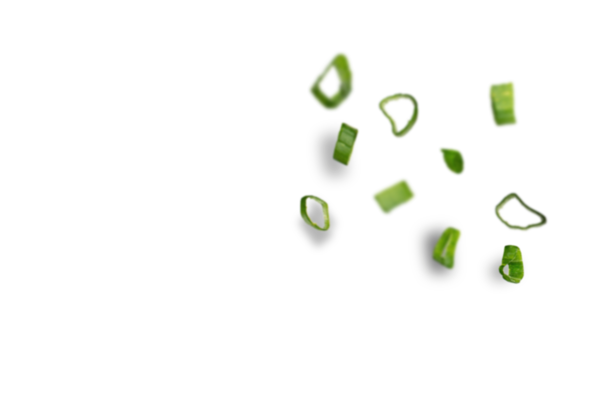 Lauchzwiebeln - Hintergrund